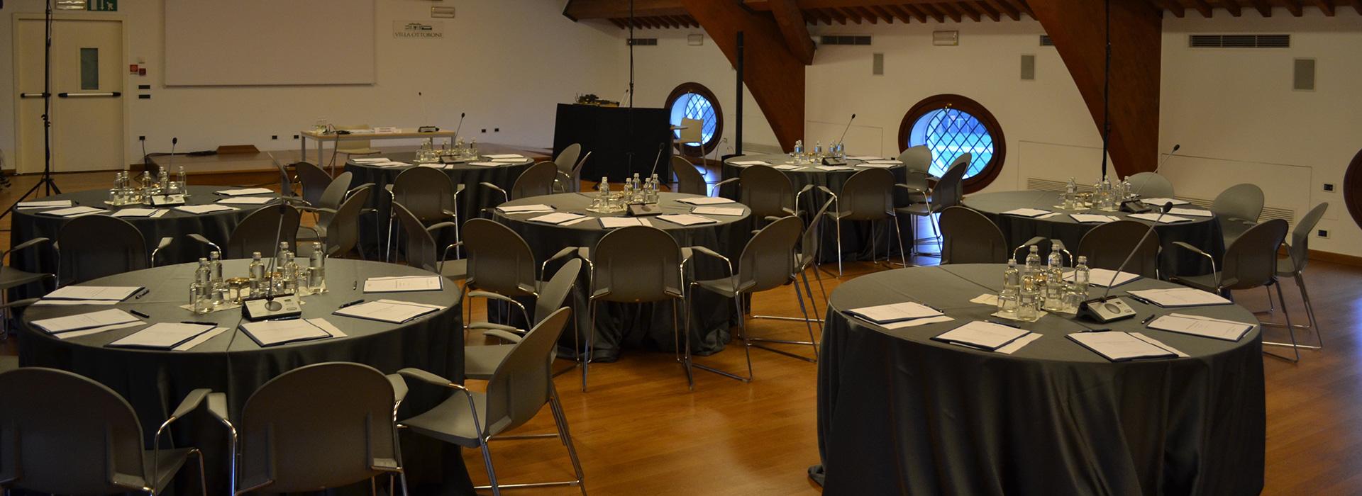 sala meeting a Padova